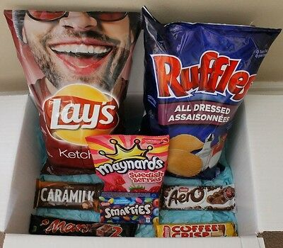 Lay's Ketchup Chips, Aero,Coffee Crisp, Ruffles All Dressed | CANADIAN SNACKS