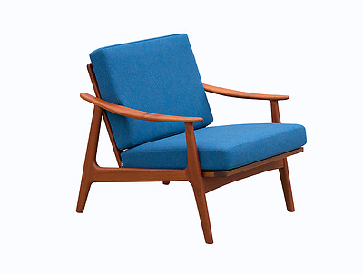 Danish modern teak easy chair scandinavian design 60s 70s (2 of 2)