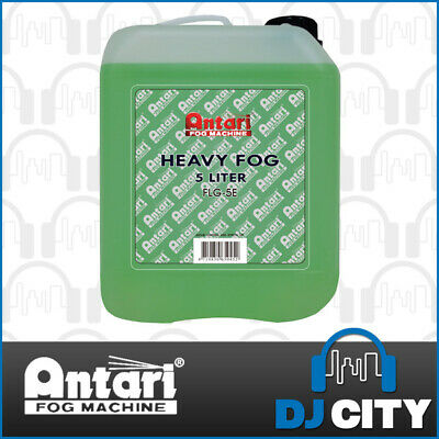Antari FLG-5 Heavy Fog Fluid for Antari Smoke Machine & Fazers - Water Based
