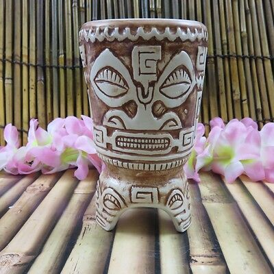 Trader Vic's Marquesan Drum Of Ku Tiki Mug NEW 2016