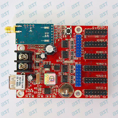 TF-M6UW control card for programmable led moving sign with USB/WIFI connect