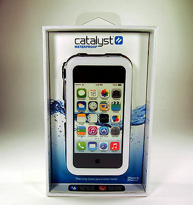 Catalyst Waterproof White Case for iPhone 4s