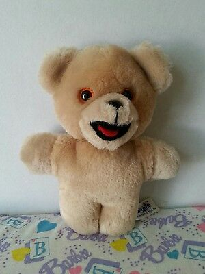 "Vintage Russ Snuggle Fabric Softener 7"" Teddy Bear Plush - Korea"