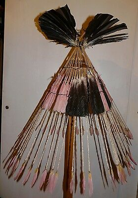 Phenomenal Karaja Brazil Amazon Indian Headdress