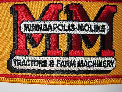 Farm Tractor Patch Minneapolis-Moline  Tractor Look And Buy Now*