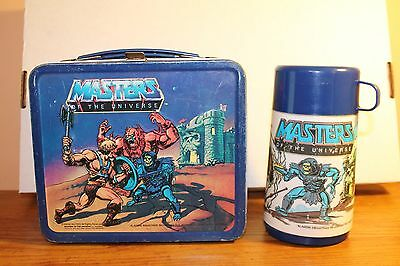 Vintage Aladdin Masters of the Universe He-Man MOTU Lunch Box & Thermos