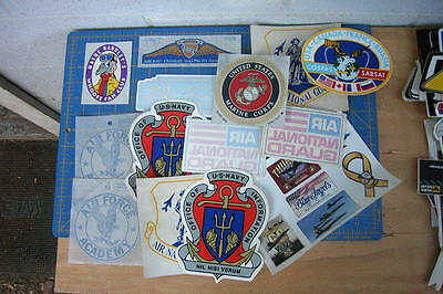 Aircraft Airshows Military Parachute Team Stickers  Lot Of 14