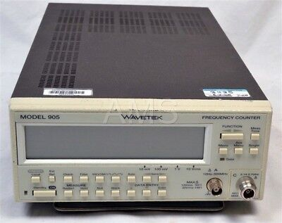 Wavetek 905 2.7 Ghz Frequency Counter GPIB, Oven, Warranty