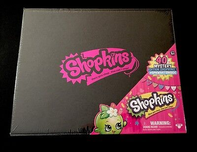 Shopkins Season 3 Limited Edition Black Mystery Box Target Exclusive Sealed