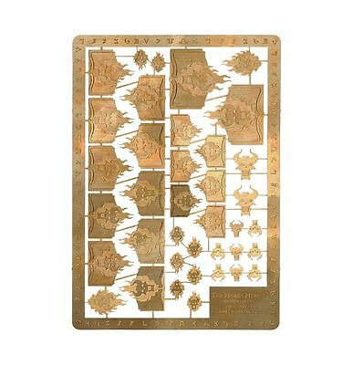 40k Forgeworld Word Bearers Horus Heresy etched brass space marines