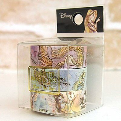 Disney Alice Rapunzel Bell ,Ariel paper tape NEW 15mm x 5 m washi tape
