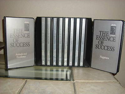 THE ESSENCE OF SUCCESS - Earl Nightingale Conant - 20 CDs + 20 Tapes - MSRP $400