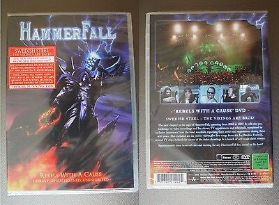 "Hammerfall ""Rebels with a cause"" DVD NEW sealed"