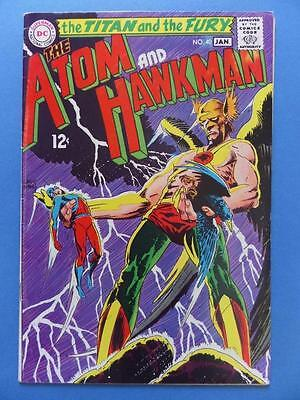 The Atom And Hawkman 40 1968 Kubert Cover!