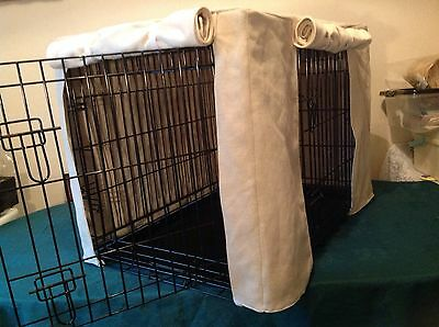 Animal Crate Covers Made To Measure You Provide Fabric  Ill Make It Up From £25
