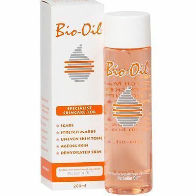 Bio Oil Genuine Specialist Skincare Oil For Scars Marks & Dehydrated Skin 200ml