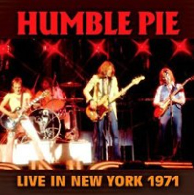 Humble Pie-Live in New York 1971  CD NEUF