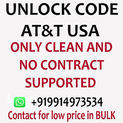 Kyocera C6742A unlock code for Kyocera C6742A at&t usa only clean imei