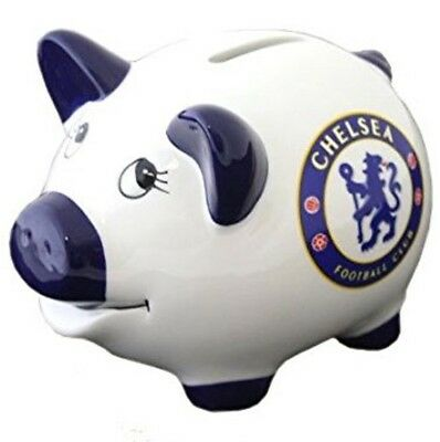 Chelsea Piggy Bank Chelsea FC Football Team Ceramic Piggy Money