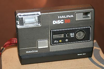Halina Disc 118 Camera - Untested - But Looks Good.