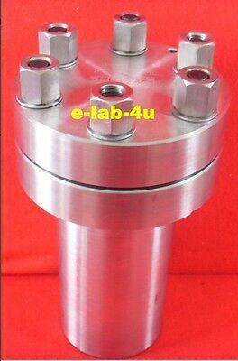 High pressure Hydrothermal Autoclave Reactor 100ml  300℃ 20Mpa customizable