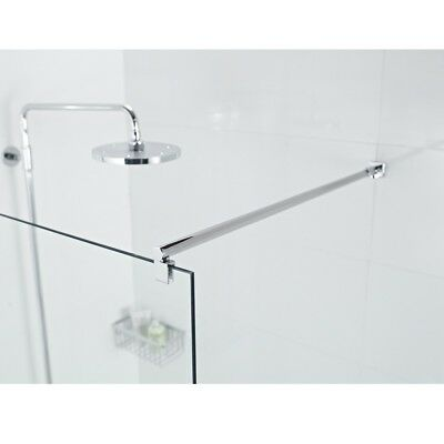 Shower Support Bars For 6-8mm Glass Bathroom Walk In Shower Enclosure Screen