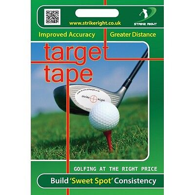 Golf Target Tape Pack Of 44