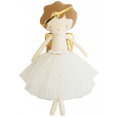NEW Alimrose Angel Doll Gold - 49 cm