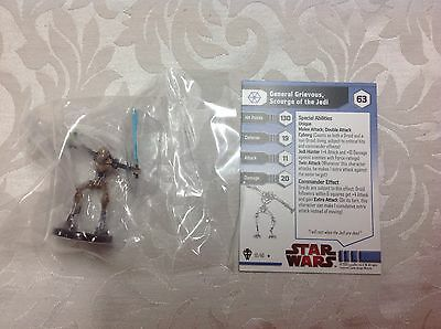 Star Wars general grievous scourge of the jedi 10/40 new in bag with stat card