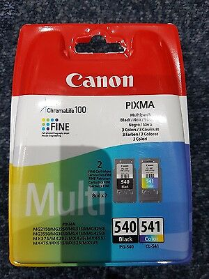 Genuine canon pixma 540 and 541 oem