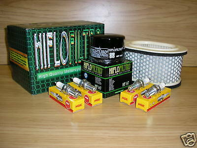 Fazer 600 98-03 Service Kit FZS600 FZS Air Filter Oil Filter Spark Plugs