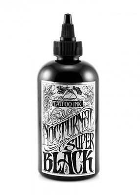 100 % Authentic NOCTURNAL Tattoo Ink 4oz - SUPER BLACK - UK Supplier