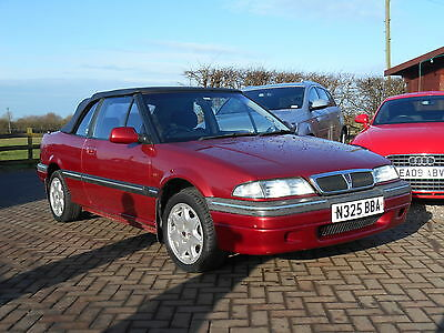 1996 Rover 216 Cabriolet Red