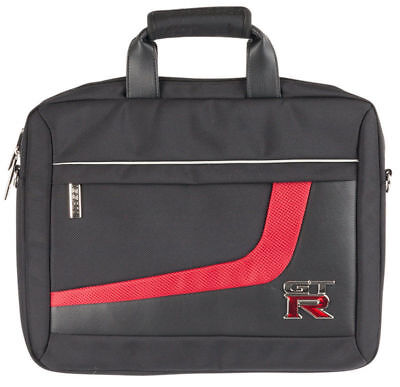 Nissan GTR GT-R Leather PU Laptop Bag Computer Case New + Genuine GTR68