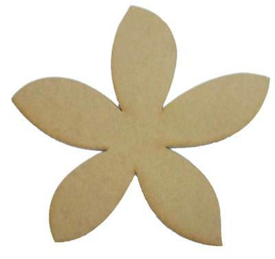 Frangipani - Wooden Cut-out 350x350mm