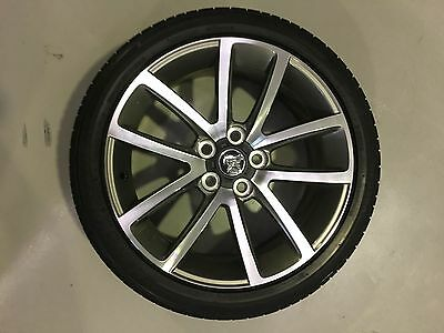 """4 x Commodore VE Series 2 SSV 19"""" Alloy Wheels+Tyres"""
