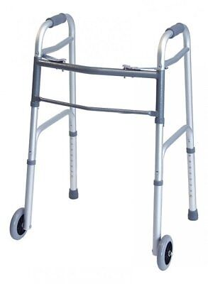 GFHC-716270B2-Lumex 716270B-2 ColorSelect Adult Walker with Wheels, Blue (Pack
