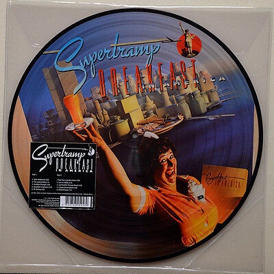Supertramp - Breakfast In America - New Picture Disc Vinyl LP The Logical Song
