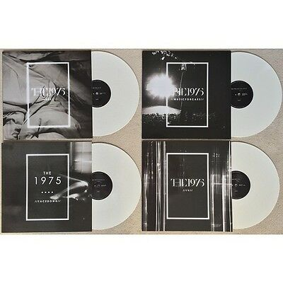 "The 1975 - Music For Cars / Chocolate EP - New 12"" WHITE COLOURED 12"" Vinyl E.P."