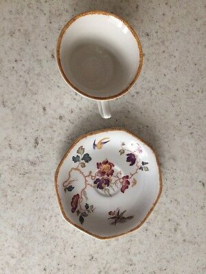 Vintage Wedgwood Devon Rose Georgetown Collection coffee cup & saucer