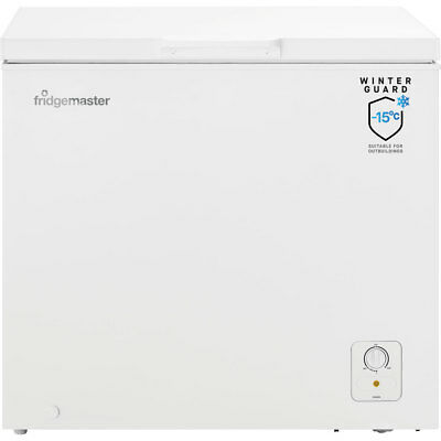 Fridgemaster MCF194 Free Standing 194 Litres A+ Chest Freezer White - from AO