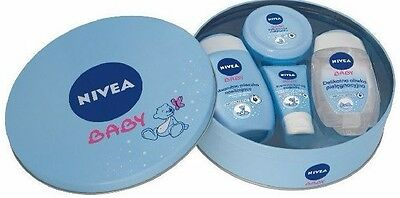Nivea Baby Set Baby skin care cosmetics Face Cream, Lotion Baby Oil, Infants
