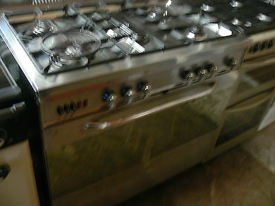 Baumatic Stainless Steel 90cm Gas Range Cooker - Model BT2550SSINOX