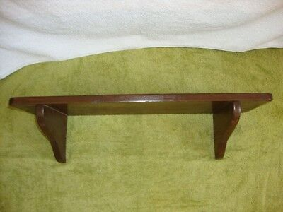 Wood Rustic Country Primitive Wooden Wall Shelf Home Decor