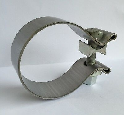 "Ferrari / Maserati AccuSeal 2.5"" 63.5mm Stainless Heavy Duty Exhaust Band Clamp"
