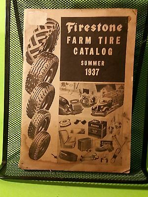 Vintage Firestone Farm Tires Summer 1937 Catalog