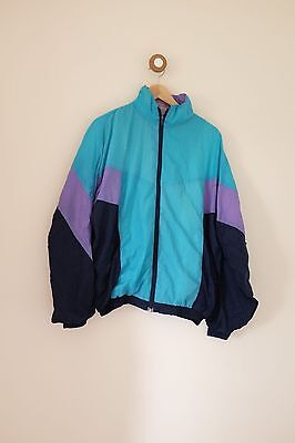 Vintage women's festival 80's/90's shell suit jacket