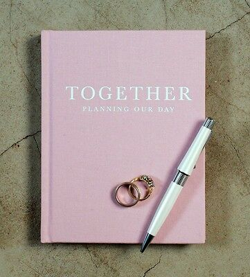 NEW Write To Me Together Wedding Journal Book Planner Notebook Organiser Diary