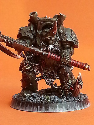 Typhus Herald of Nurgle Warhammer 40K Painted Chaos Space Marines