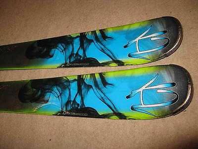SKIS K2 76X POTION 167 cm !!! ROCKER ! GOOD SKIS 2014 !